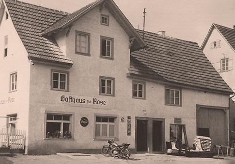 Das Gasthaus zur Rose in Owingen