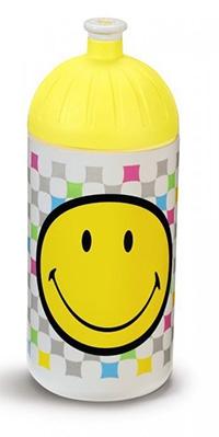 Trinkflasche Smiley