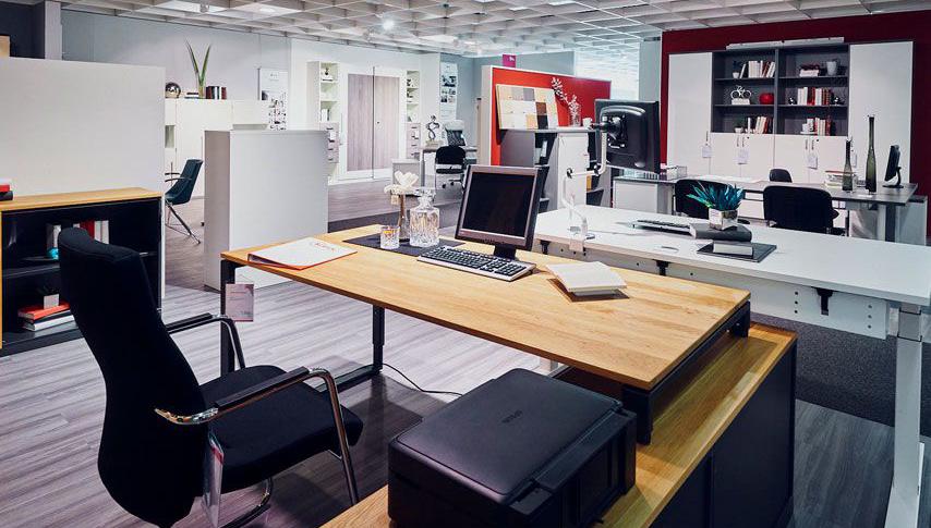 Büroeinrichtung - der Arbeitsbereich genau auf ihre Bedürfnisse zugeschnitten