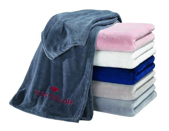 Corall-Fleece-Decke