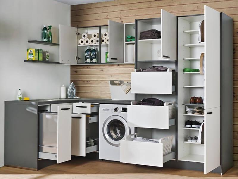 Küchenschrank Schubladen Aufbewahrung bei Wohn Schick