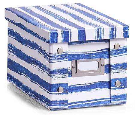 BLUE STRIPES AUFBEWAHRUNGSBOX