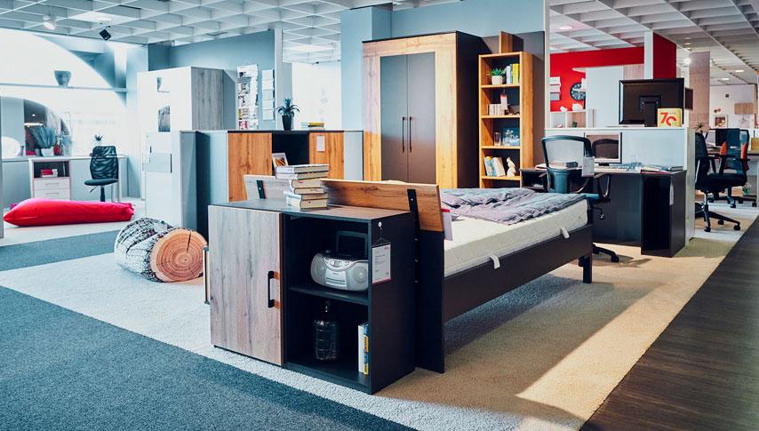 Jugendzimmer - cleveren Einrichtungs-Lösungen zeigen schöne Beispiele in unseren Möbelhäusern.