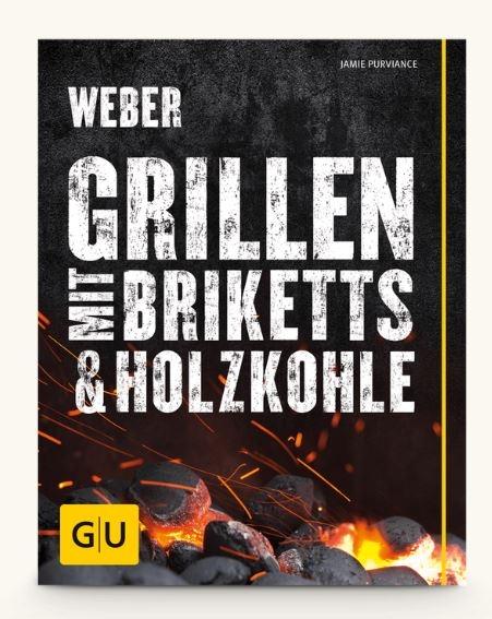 Grillbuch Weber`s mit Briketts