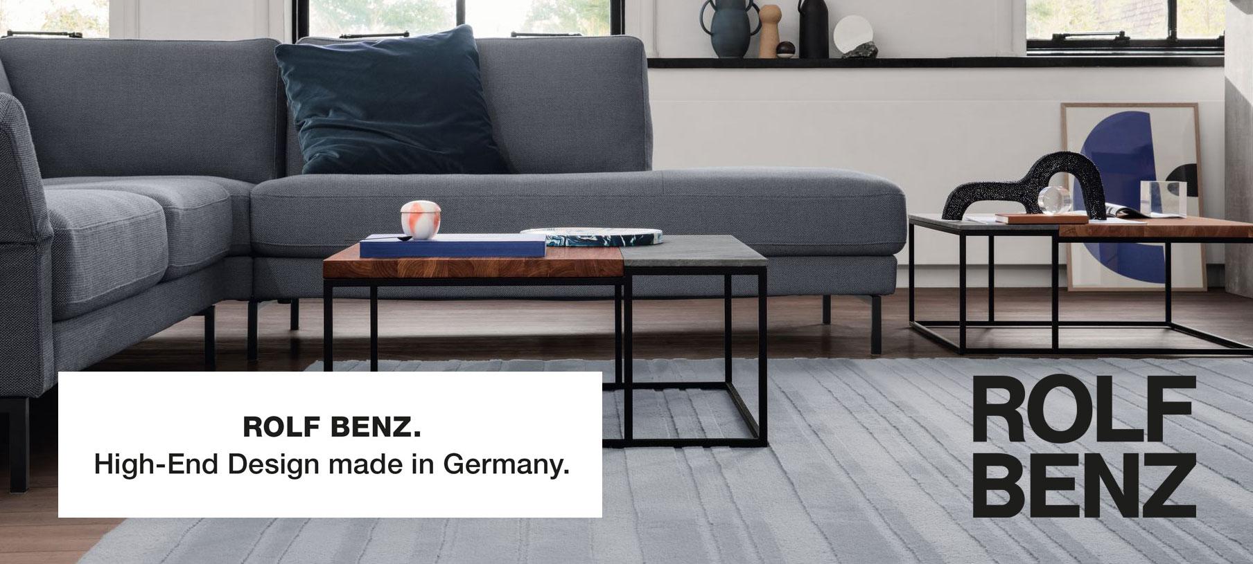 Sie suchen hochwertige Sofas von Rolf Benz? Dann schauen Sie im Wohn Schick Online Shop vorbei!