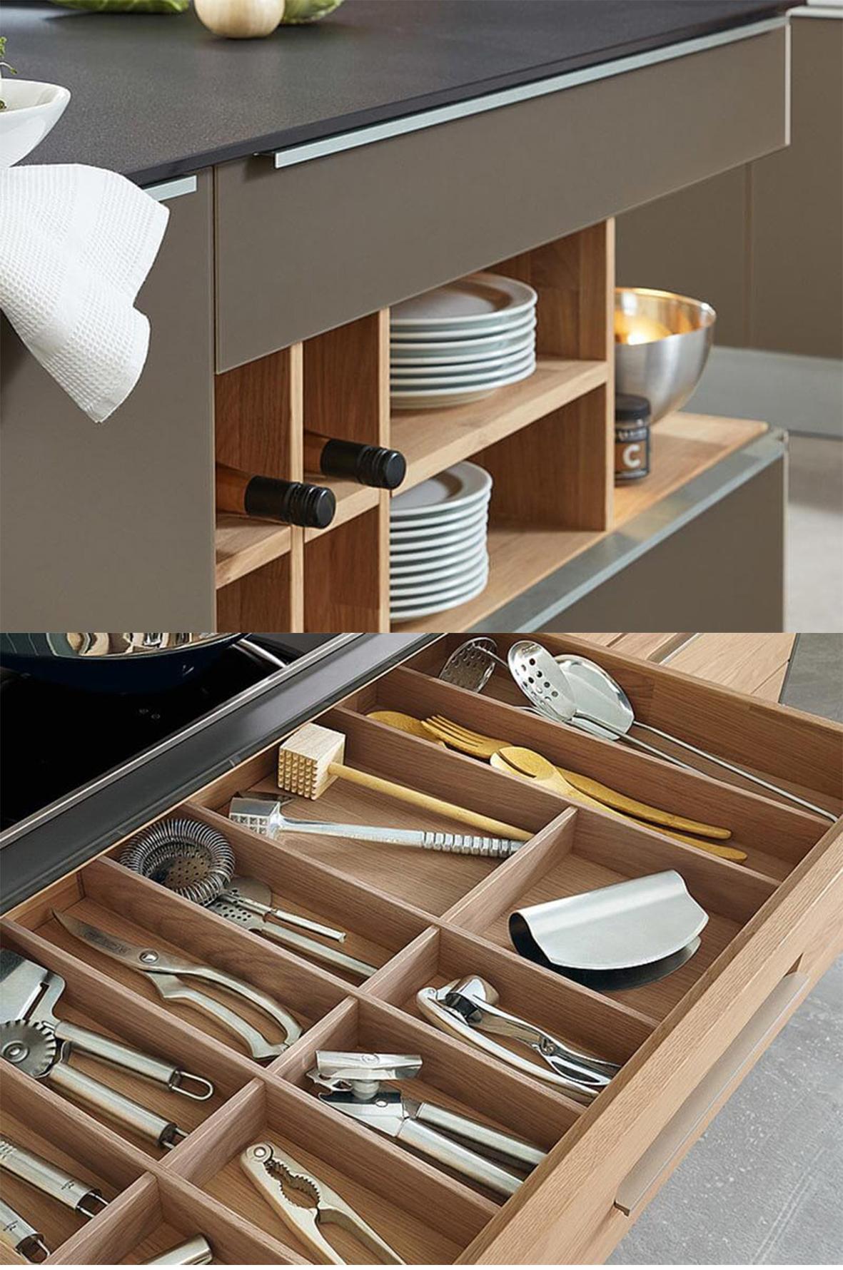 Ablage in Küche Decker bei Wohn Schick