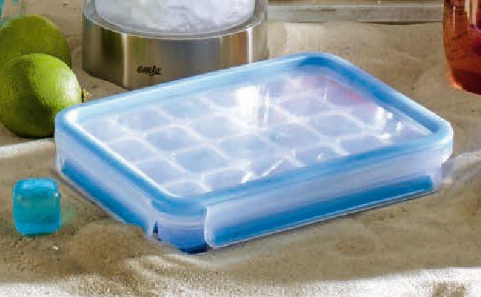 CLIP & CLOSE Eiswürfelbox