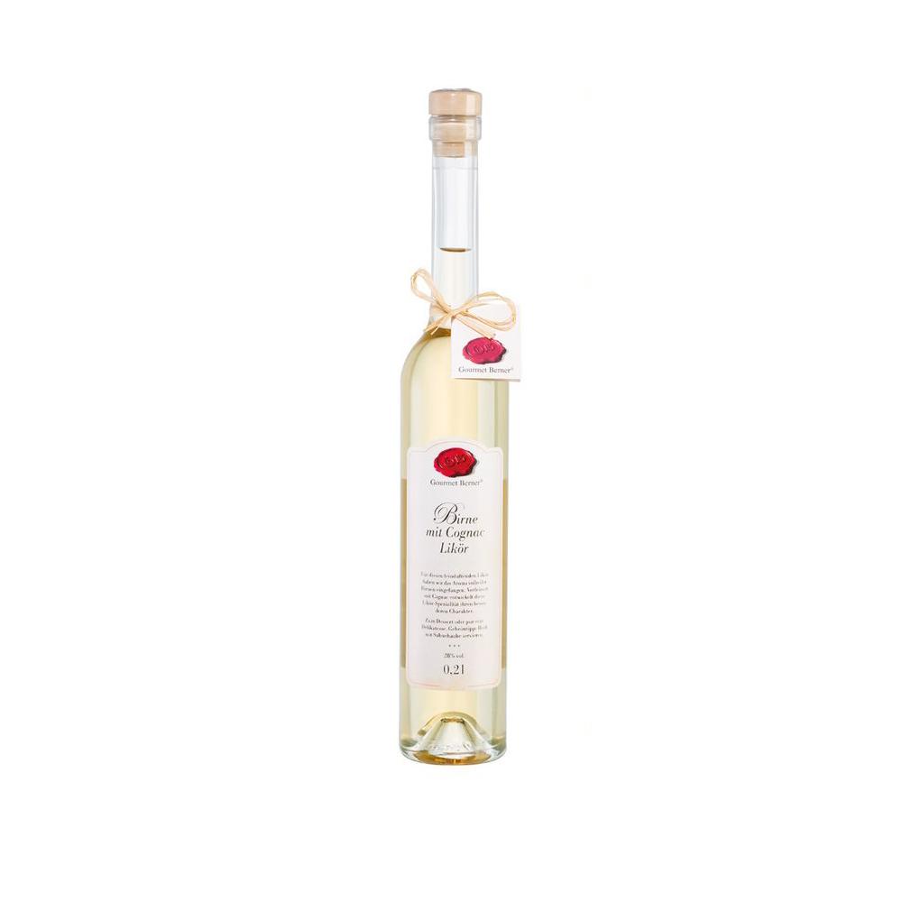 Likör Birne mit Cognac