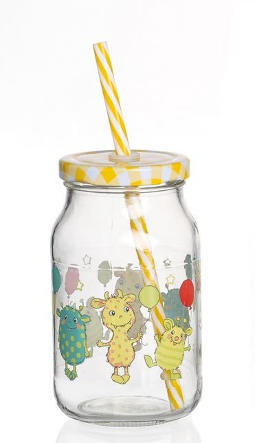 Kinderglas Monsterchen Helmut