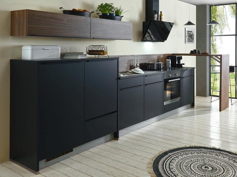 Küchenzeile grifflos Express Küchen bei Wohn Schick