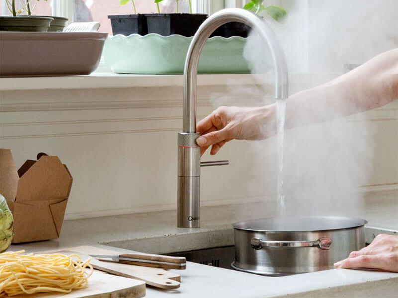 Küchenarmatur mit kochendem Wasser Wohn Schick