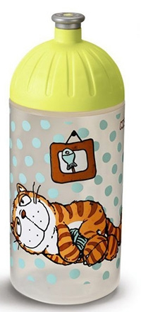 Trinkflasche Comic Cats