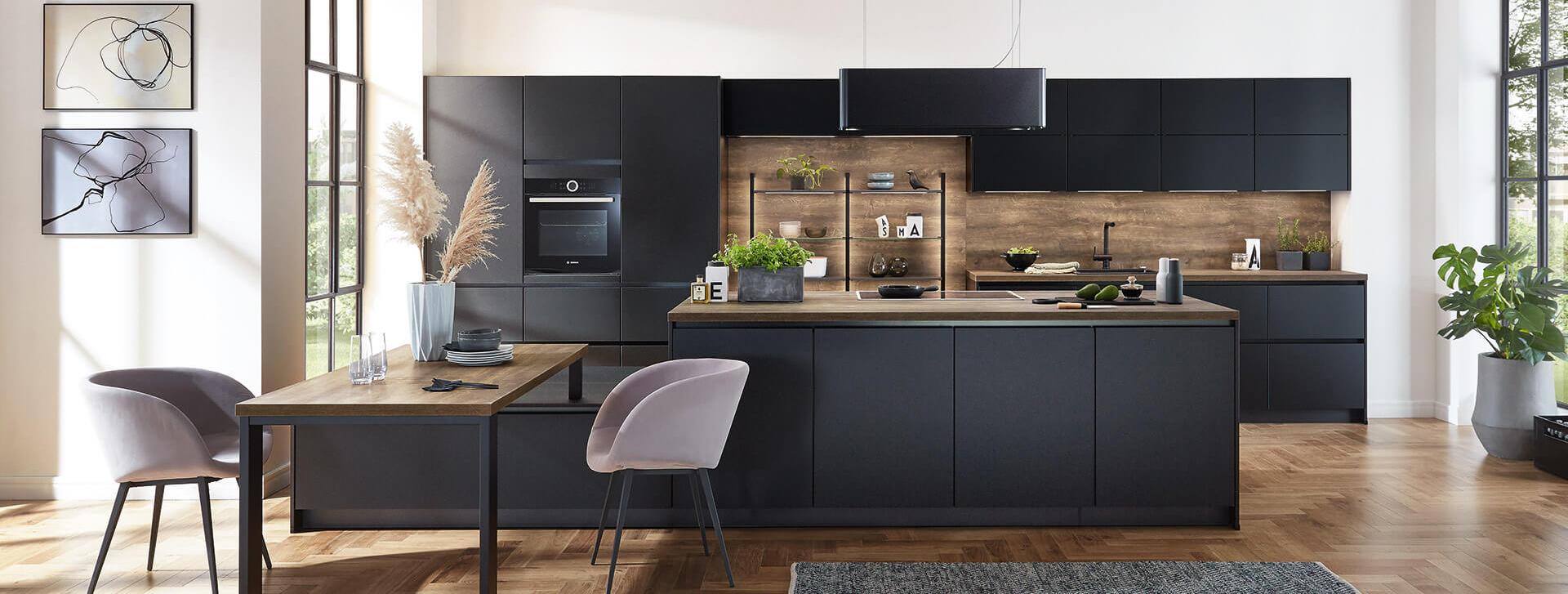 nobilia Kücheninsel groß Design Küche