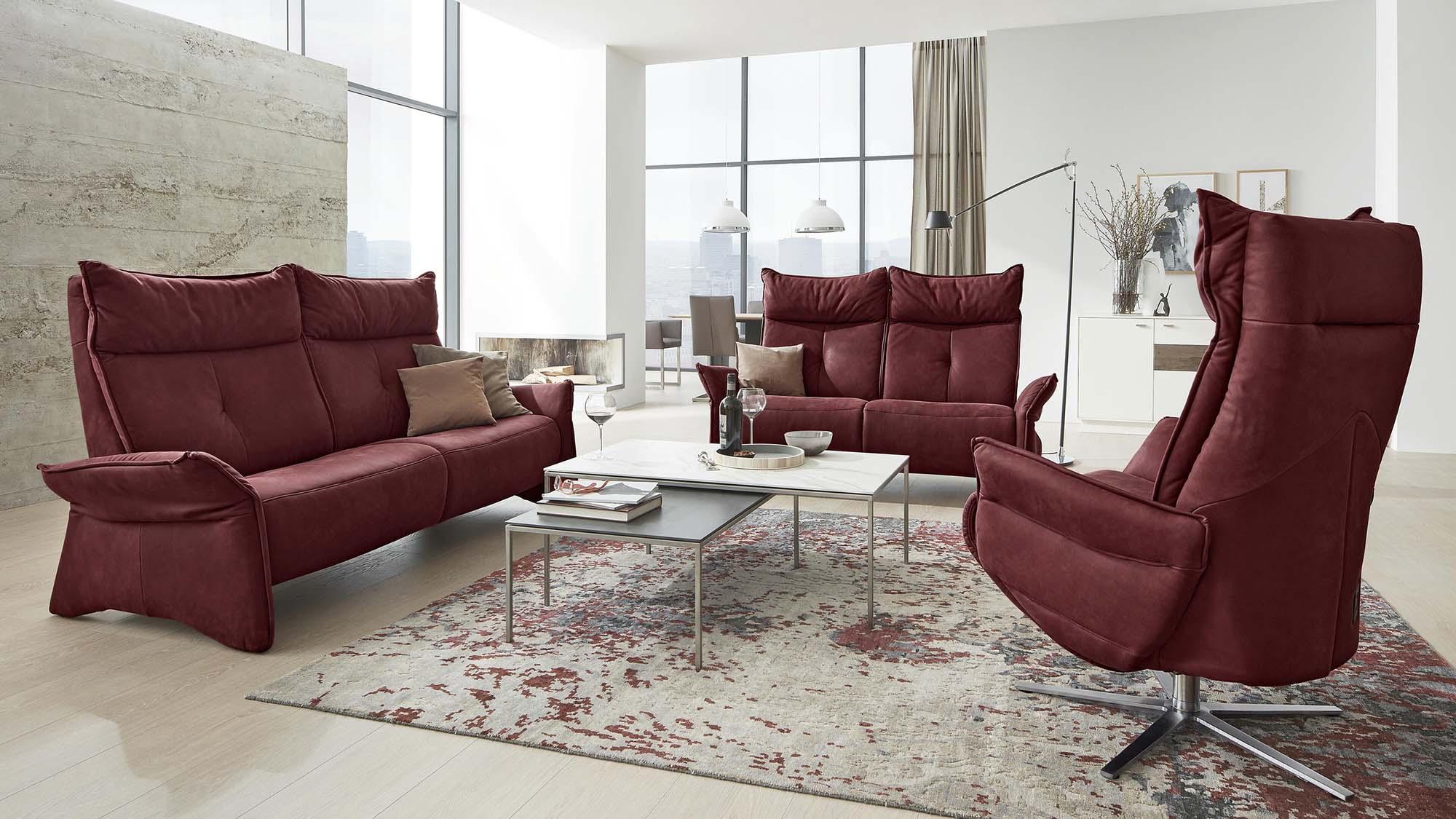 4200 Sofagruppe mit 4500 Sessel