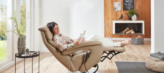 Relaxsessel von Hukla - im Wohn Schick Online Shop