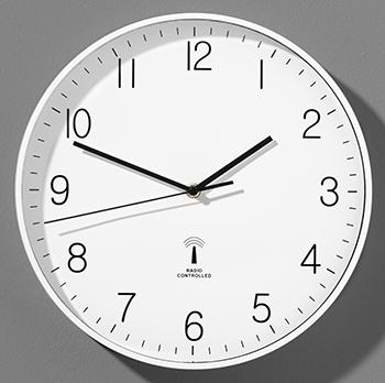 Wand-Funk-Uhr