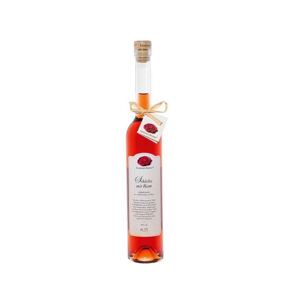 Schlehe mit Rum