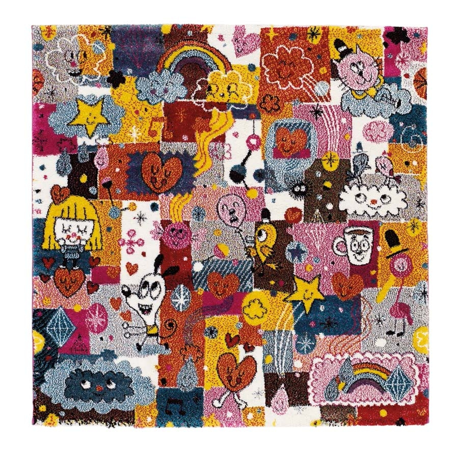 Kidsclub Pink Paradise 120x120 cm