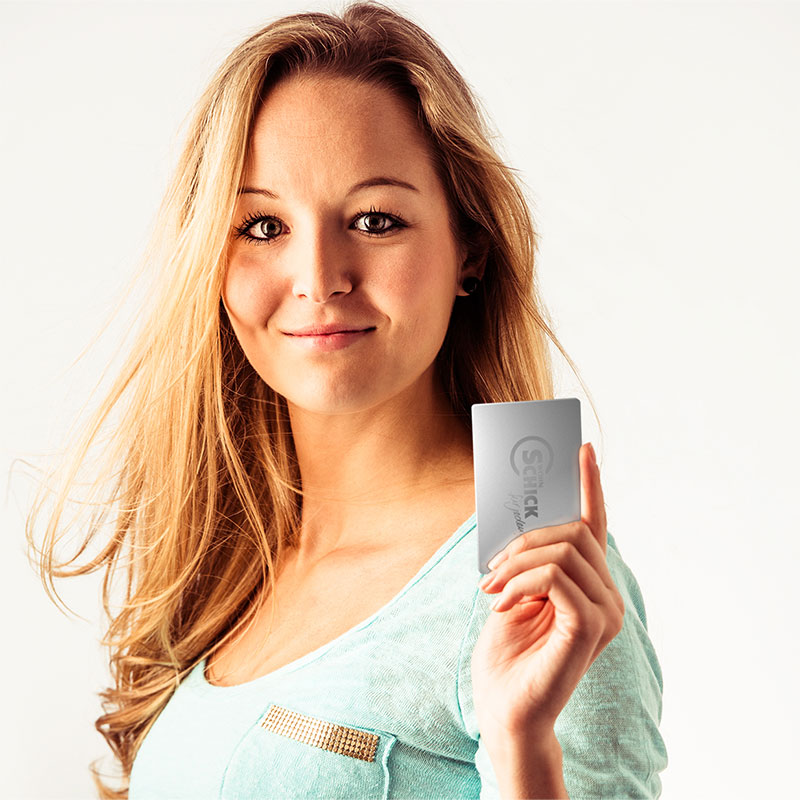 Bei Wohn Schick bekommen Sie wenn Sie wollen eine Stammkundenkarte. Mit dieser Karte haben Sie eine menge vorteile. Im online Shop beantragen oder direkt vor Ort