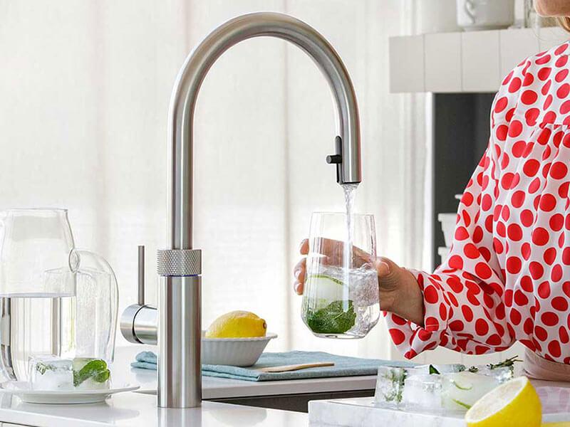 Wohn Schick Wasserhahn in der Küche