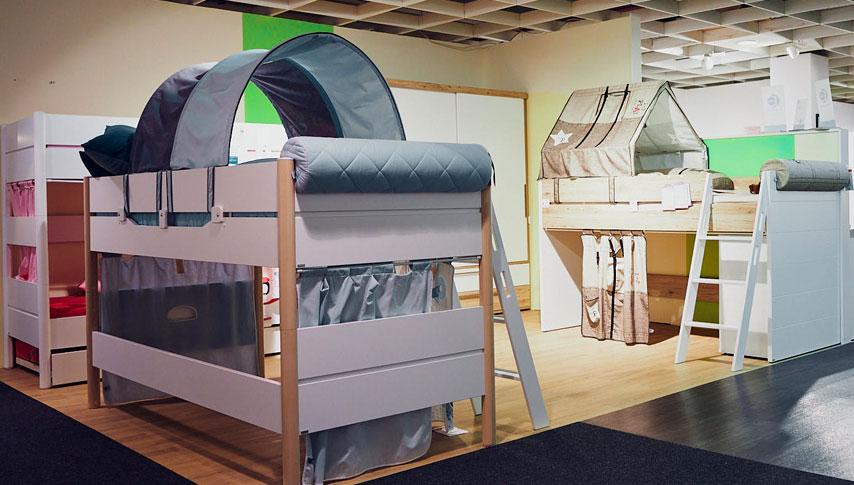 Unsere hochwertigen Möbeln eignen sich ideal zur Gestaltung ihres Kinderzimmers.