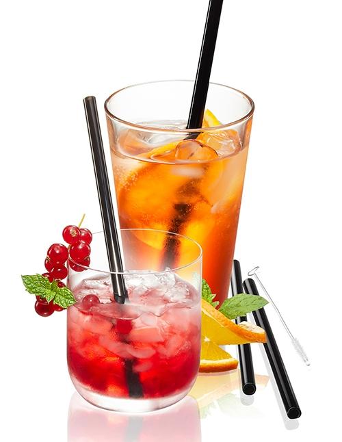Trinken Future Glastrinkhalm-Set